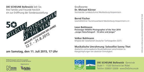 Programm Ausstellungseröffnung