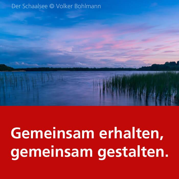 Der Schaalsee. Foto: Volker Bohlmann