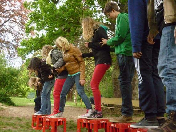 GUT DRAUF-Wochenende mit Kindern und Jugendlichen. Foto: Frank Hermann