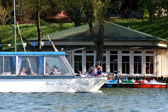 Schiffstour auf dem Schaalsee mit der SCHAALSEE-TOUR. Foto: Henrik Rath