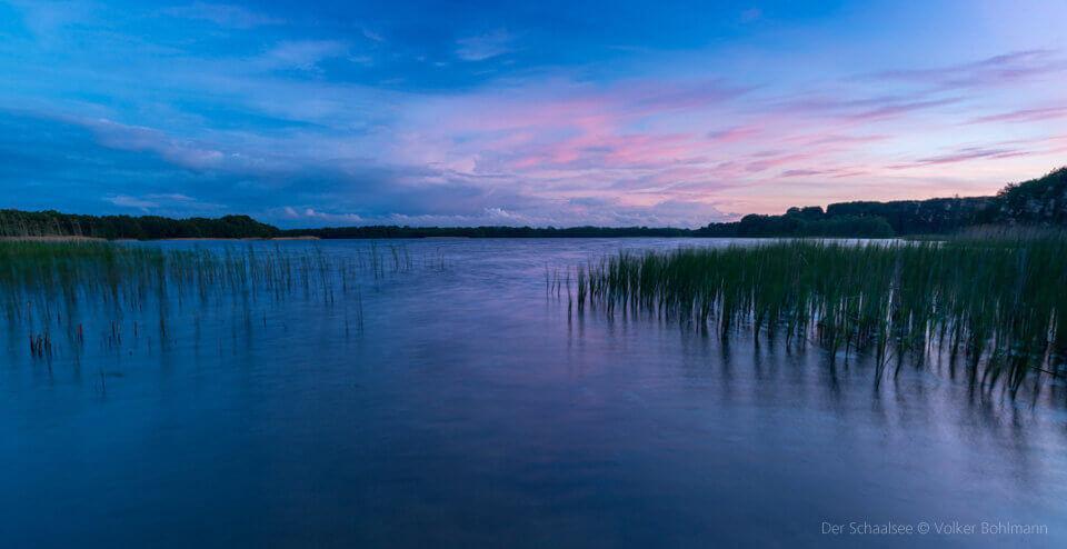 Der Schaalsee. Foto: Volker Bohlmann.