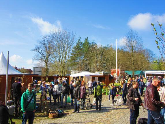 Der Biosphäre-Schaalsee-Markt. Foto: Frank Hermann