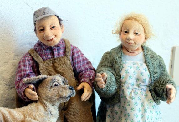 """Puppenspiel """"Hilde, Hans und ein bisschen Zwerg"""". Foto: Tandera Theater, Testorf"""