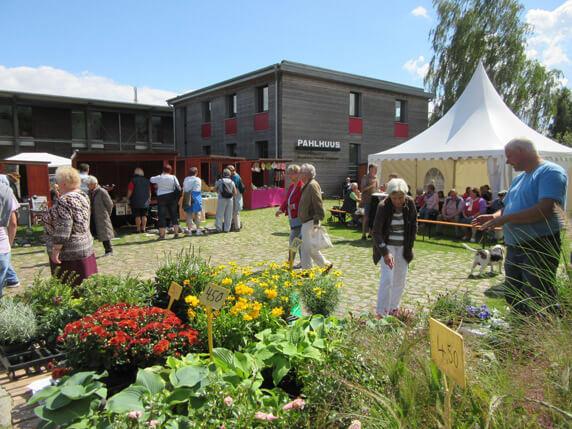 Der Biosphäre-Schaalsee-Markt in Zarrentin. Foto: Frank Hermann