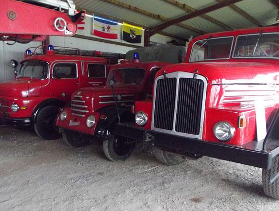 Das Feuerwehrmuseum Meetzen. Foto: Uwe Rosenfeld