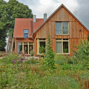 Der Kräutergarten von Anna Habicht in Lassahn. Foto: Susanne Hoffmeister