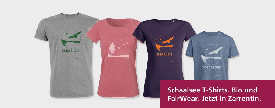 Schaalsee T-Shirts für Damen, Herren und Kinder in Bio- und Fair Wear-Qualität in Zarrentin kaufen