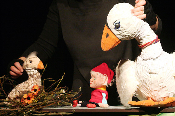 "Puppenspiel ""Nils Holgersons wundersame Reise"". Foto: Figurentheater Schnuppe, Gingst"