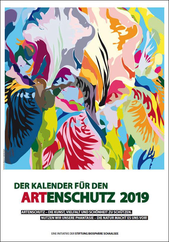 ARTenschutz-Kalender 2019 Schaalsee