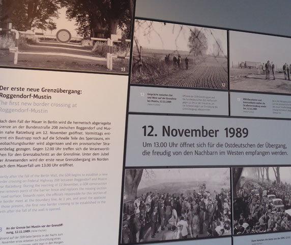 Die neue Ausstellung im GRENZHUS Schlagsdorf. Foto: Dr. Andreas Wagner