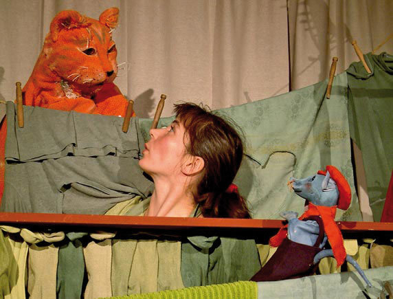 "Puppenspiel ""Katze, liebe Katze"". Foto: allerhand Theater, Herrenhof"