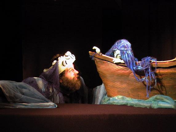 """Puppenspiel """"Die kleine Meerjungfrau"""". Foto: Figurentheater Winter, Cronskamp"""