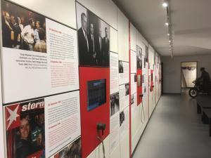 Teil der Ausstellung im GRENZHUS in Schlagsdorf. Foto: Frank Hermann