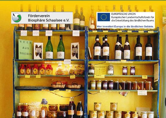 Regionale Produkte in der Schaalseeregion kaufen und damit die Umwelt schonen.