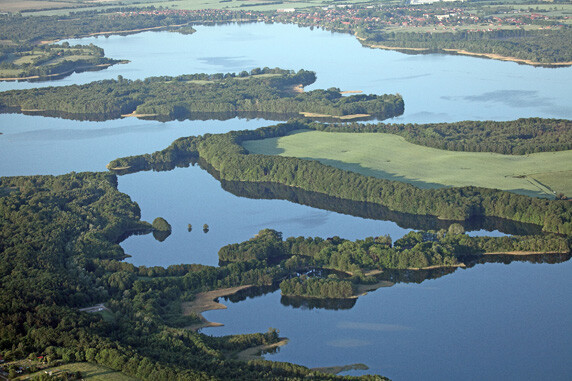 Blick auf das Biosphärenreservat Schaalsee. Foto: © Wolfgang Buchhorn