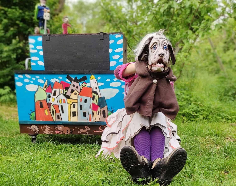 """Foto: Puppenspiel """"Zirkus Frederico"""". Fotoautor: Dorftheater Siemitz"""