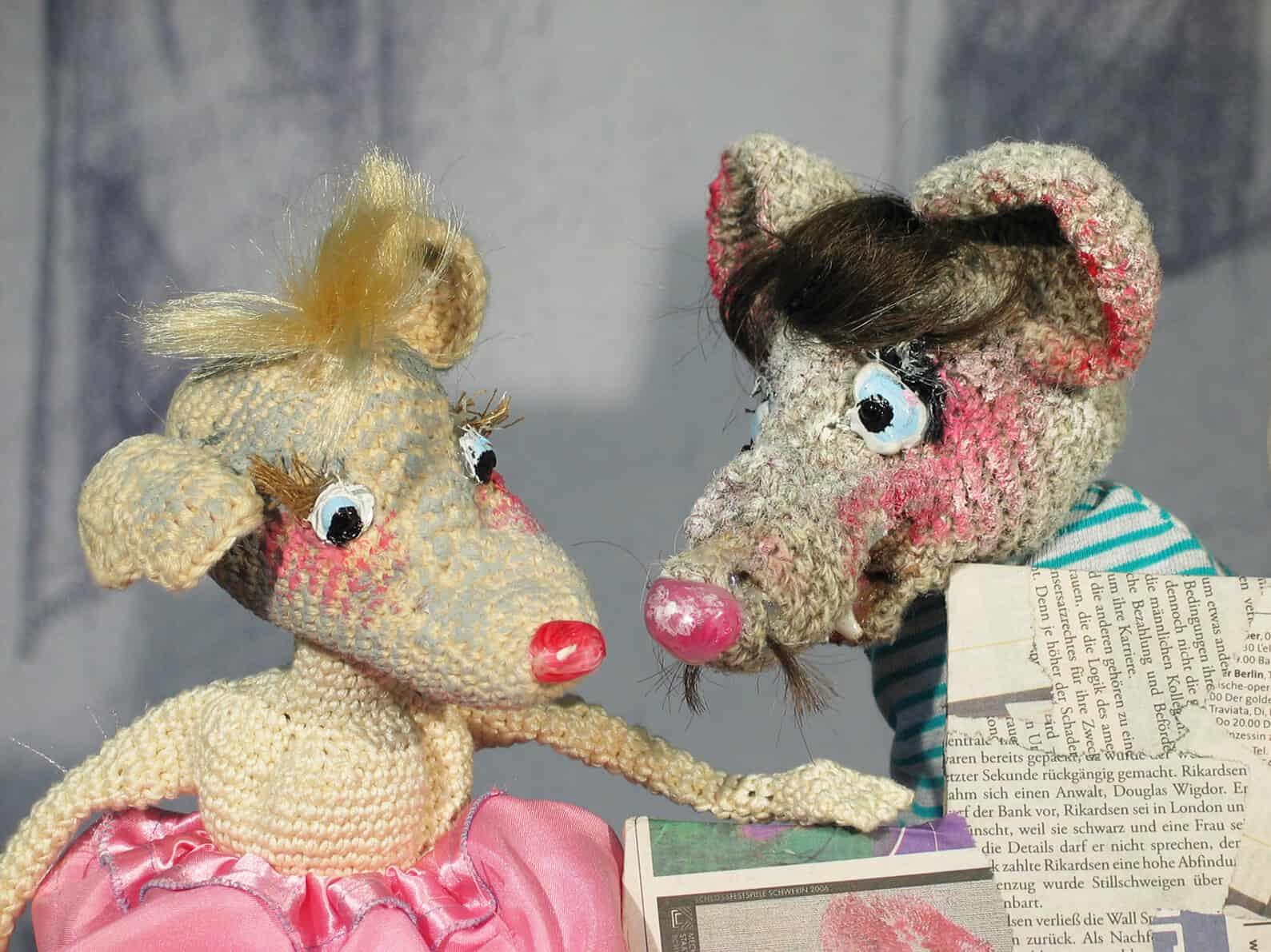 """Foto: Puppenspiel """"Die Geschichte vom Mäuseken Wackelohr"""". Fotoautor: Tandera Theater, Testorf"""